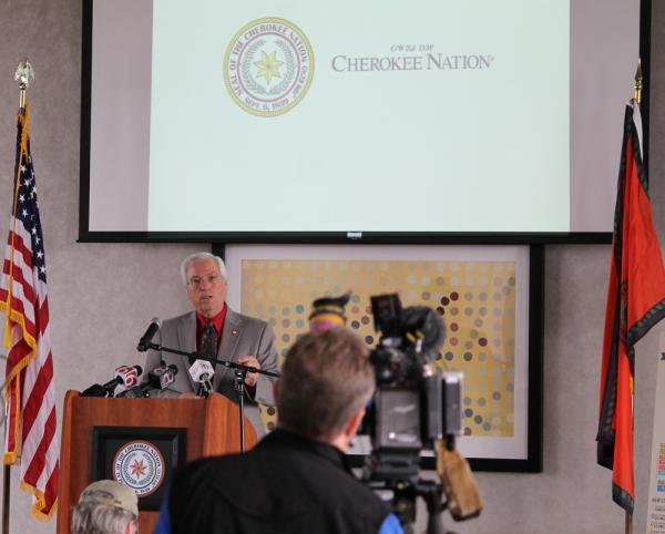 Cherokee Tribal Chiefs http://www.tulalipnews.com/wp/2013/03/29/cherokee-nation-to-fund-copy00-million-overhaul-of-tribal-health-care-system/
