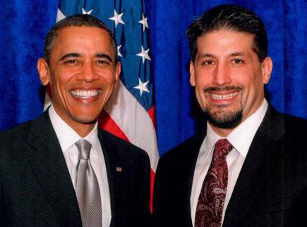 Rion Joaquin Ramirez, left, was named by President Barack Obama to the President's Commission on White House Fellowships on July 12.