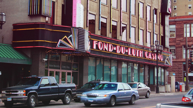 The Fond-Du-Luth Casino in Duluth, Minnesota. (Photo/Michael Hicks via Flickr)