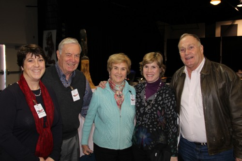 Members of Judge Boldt's family that attended the 40th Anniversary Celebration of the Boldt Decision. His daughter, Virginia Riedinger (center) spoke about her father and the toll the Boldt decision took on him and his family.