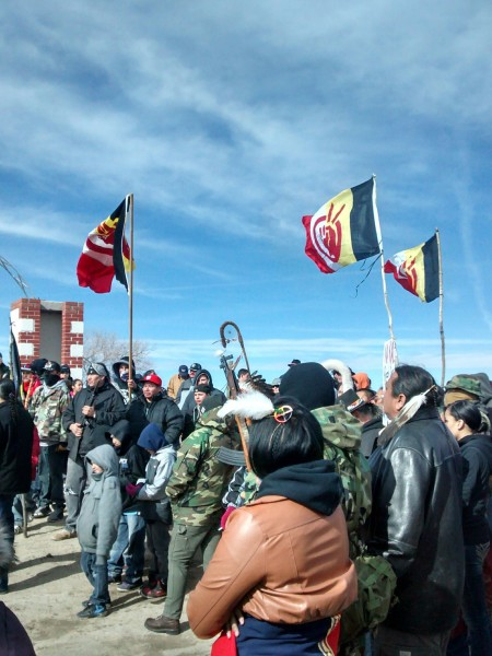 Liberation Day: They gathered to remember 1973 Wounded Knee. PHOTO Courtesy: Michelle Mills