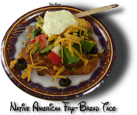Recipe native american fry bread taco tulalip news for American indian cuisine