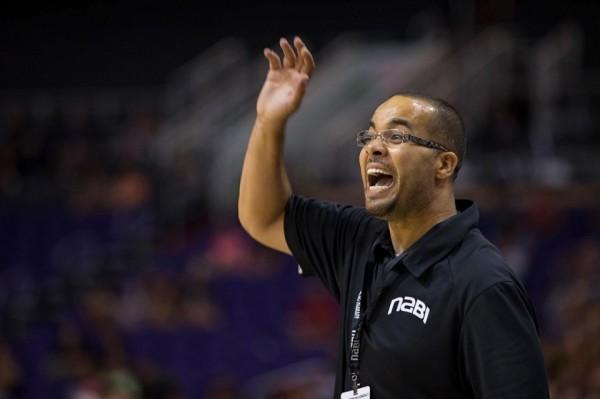 Rez Runners basketball coach Andrew Bowers.Mark Henle for Al Jazeera America