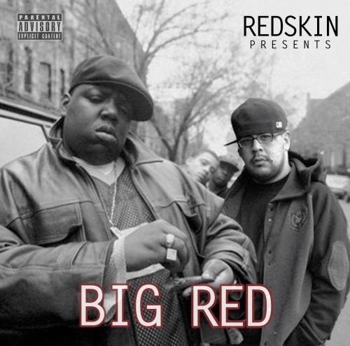 BIGRED W TEXT_ Redskin