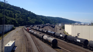 Reports say up to 18 oil trains a week travel along the Washington side of the Columbia River, and up to six oil trains a week are traveling through the state of Oregon along the Columbia River and through central Oregon.Tony Schick