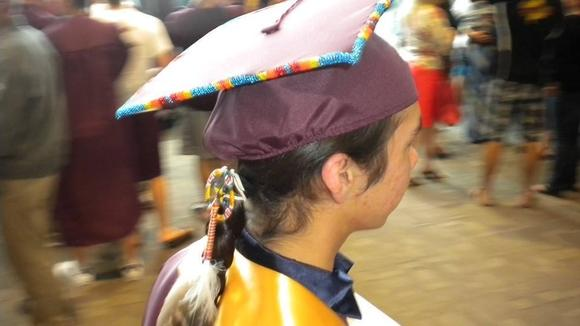 Change.orgA Native American group in North Dakota has won the fight for students to wear eagle feathers to graduation ceremonies.
