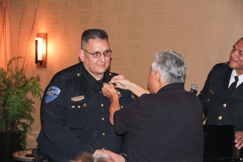Tulalip Police Officer Jim Williams. Photo Courtesy Theresa Sheldon
