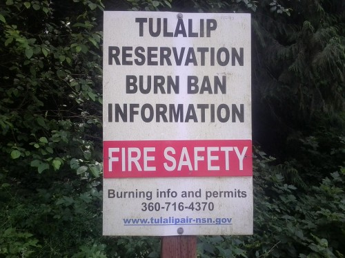 Photo/ Tulalip Forestry Department
