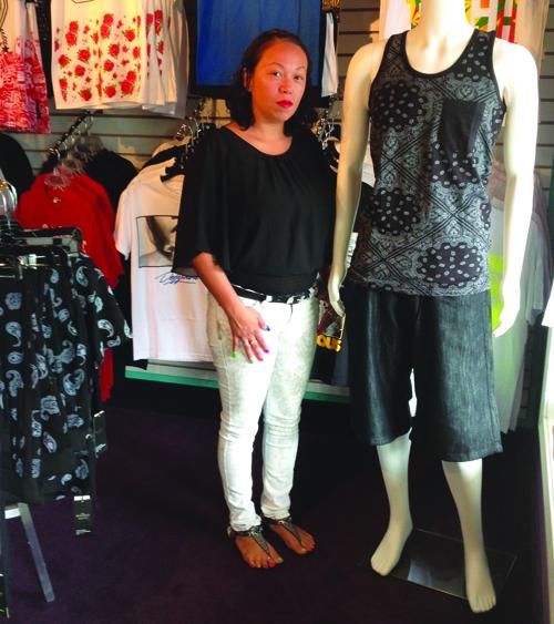 Georgina Medina, owner of Zurban Wear. Photo/Kim Kalliber