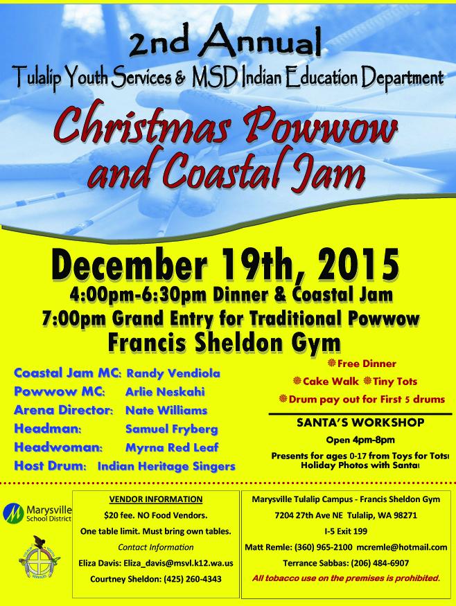 Community Powwow Flyer