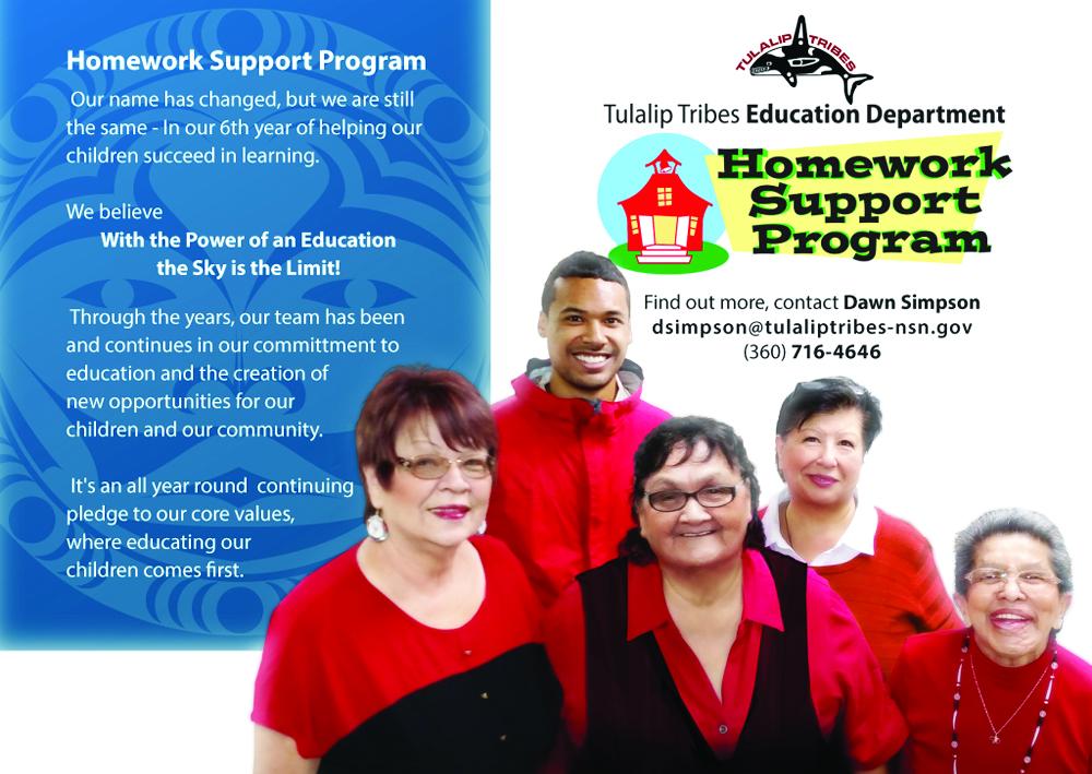 Tulalip Tribes Homework Support Program