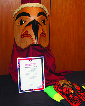 Auction items included Native American artwork, jewelry, sporting events and memorabilia, and vacation and wine packages.