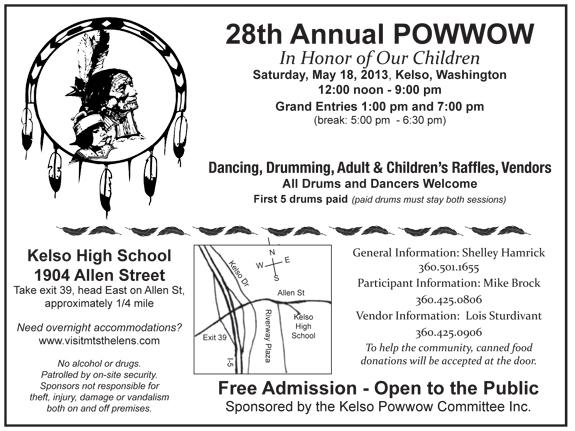 2013 Kelso POWWOW