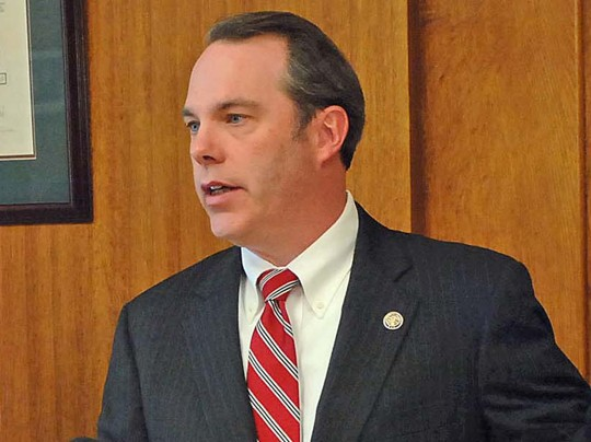 The Bismarck Tribune, Tom Stromme/Associated Press - FILE--North Dakota's U.S. Attorney Tim Purdon speaks during a press conference in Bismarck, N.D., in this May 28, 2013 file photo.