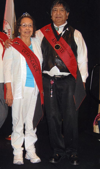 Tulalip Tribal members Carol McKay and her brother, Peter Henry, will be representing the Tulalip Tribes as this year's Marysville Strawberry Festival King and Queen.