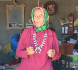 Pauline Whitesinger, Navajo Elder