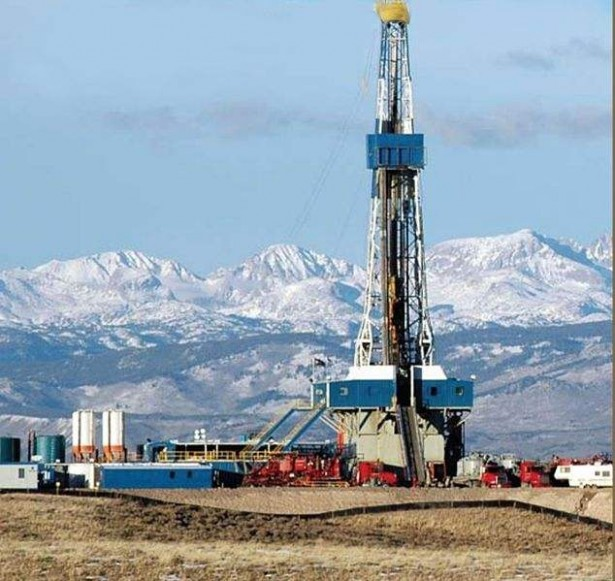 The Pinedale Anticline Natural Gas Field in central-west Wyoming lies on 80 percent federally owned land. (Wikimedia / BLM)