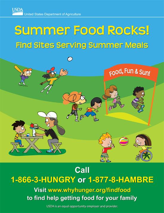 WIC Summer meals flyer