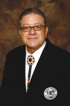 Oglala Sioux Tribe President Bryan Brewer
