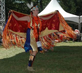Kirk BoxleitnerTanya White, who danced at last year's Stillaguamish Festival of the River and Pow Wow, has been dancing at pow pows since she was 3 years old.