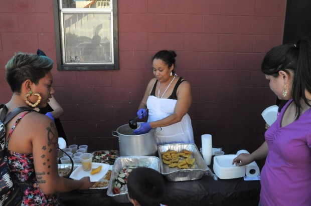 Chef Crystal Wahpepah dishes up traditional Native American cuisine, a rarity in the East Bay food scene.