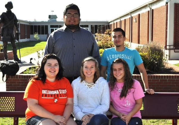 Sequoyah High SchoolPictured are the six Gates Millennium Scholars from Sequoyah High School in Tahlequah, Oklahoma. Pictured, from left, in the front row, are Lakin Keener, Nicole Mangels and Rikki Duvall. Pictured, from left, in the back row, are Zane Kee and Tyler Handle. Not pictured: Nathalie Tomasik.