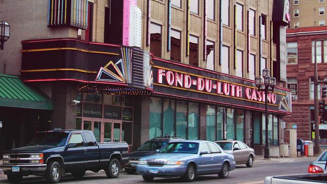 The Fond-Du-Luth Casino in Duluth, Minnesota. (Photo/Michael Hicks via Flickr)