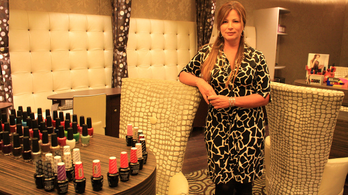 Jessica Robinson/Northwest News NetworkYvonne Smith is the director of La Rive Spa at Northern Quest Resort and Casino in Washington state. Across the country, Native American tribes are hoping high-end extras will draw visitors to casinos.