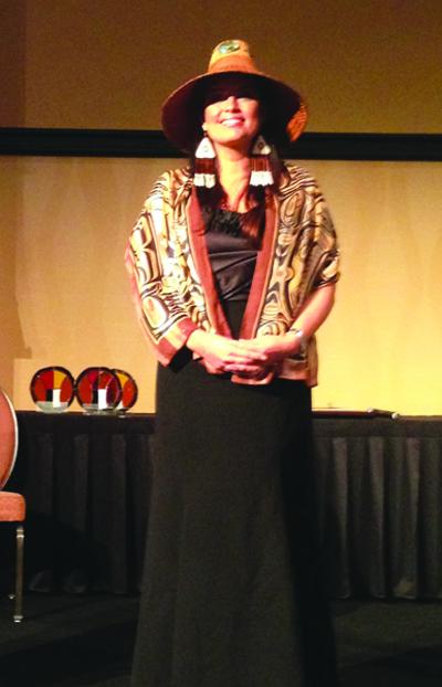 Tulalip Vice-Chairwoman Deborah Parker Photo/Theresa Sheldon