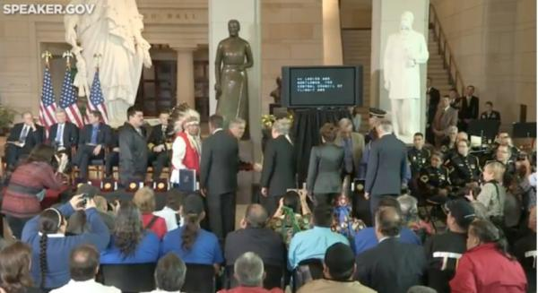 Code Talkers from 33 tribes other than the Navajo Nation receive their Congressional Gold Medals.