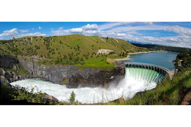 Kerr Dam in Montana