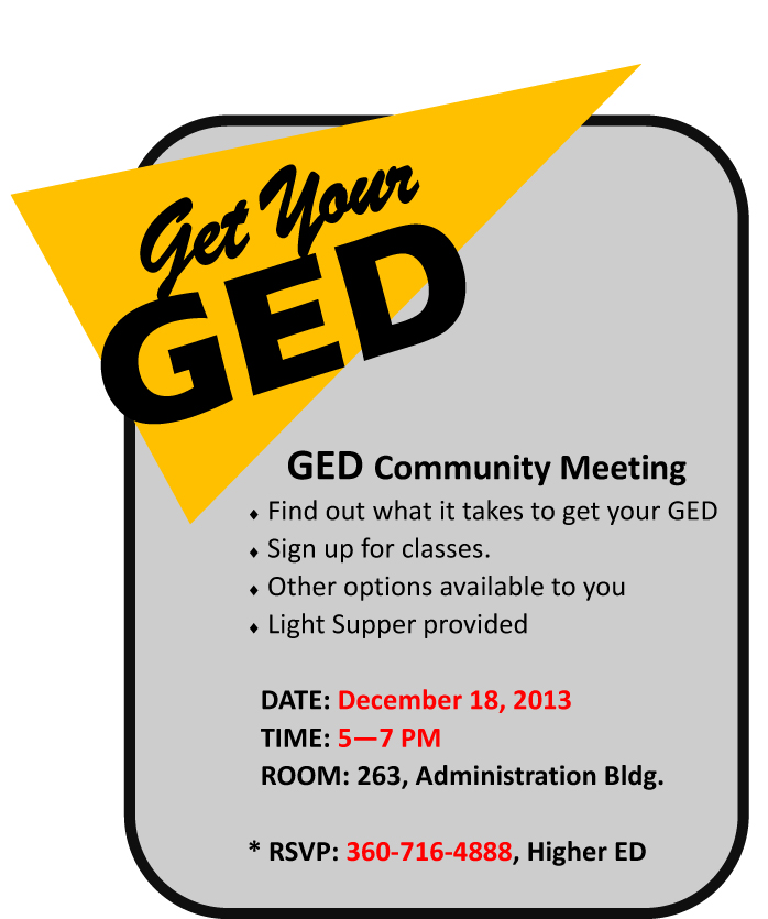 GED Community Meeting AD