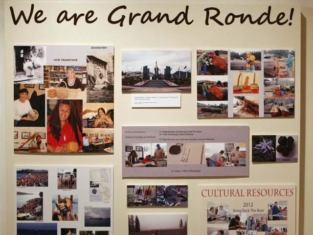 Confederate Tribes of the Grand Ronde exhibit. / TIMOTHY J. GONZALEZ / Statesman Journal file