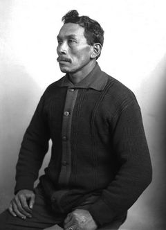 J.A. Juleen's portrait of Tulalip artist and activist William Shelton was taken in 1913.