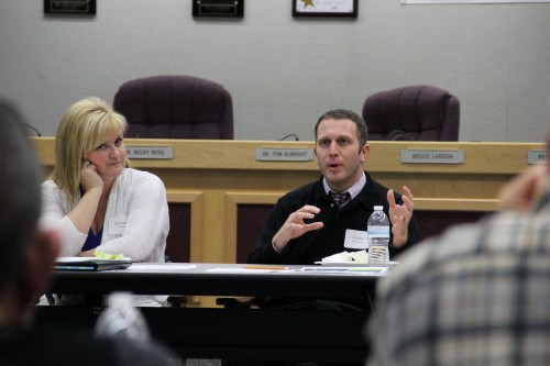Marysville Getchell High School Principal Shawn Stevenson explains the teachers' need for time outside of the classroom.