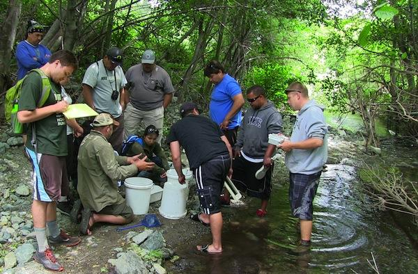 U.S. Fish and Wildlife ServiceService biologists provide tribal youth in northern California and southern Oregon with a unique opportunity to combine their cultural knowledge about the local ecology with the high-tech capabilities of NASA, the Service and other federal agencies.