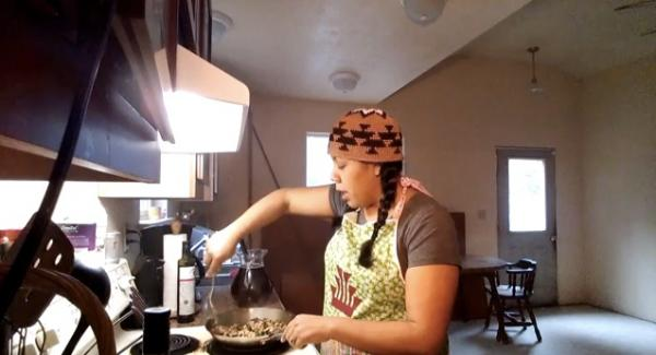 YouTubeMeagan Baldy is changing Native eating habits one video at a time.