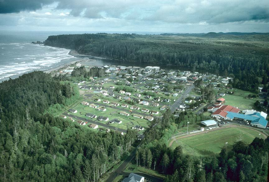 Taholah, WA Photo from Panoramio Larry Workman QIN