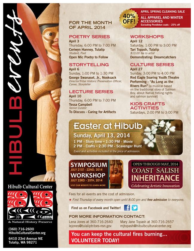 Hibulb April Events