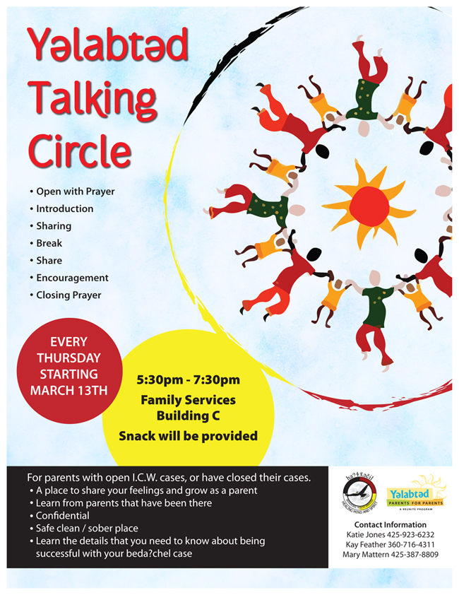 talkingcircleflyer march 2014