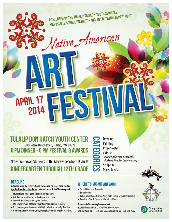 2014 Art Festival Flyer