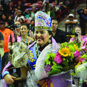Taylor Thomas, 21, from Fort Hall, was crowned 2014 Miss Indian World at the 31st Annual Gathering of Nations in Albuquerque, N.M., this weekend.