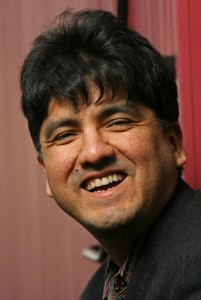 Sherman Alexie:  Drive is on to supply copies of his young adult novel to students in Idaho school district which banned it from the curriculum. (Seattle Post-Intelligencer Photo by Mike Urban)