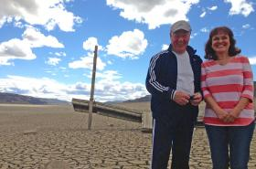 Eugene and Karen Penix live in the Sunland vacation community near Vantage, Washington, above Wanapum Dam.Credit Anna King / Northwest News Network