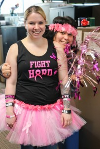 Tawyna Cortez and Trisha Montero-Higginbotham of Kindred Spirits will walk the Seattle Komen 3-day event on September 19-21. Photo/ Brandi N. Montreuil, Tulalip News