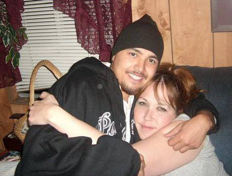 Rico Jones-Fernandez and his mother Lois 'Lou Lou' Luella Jones shortly before she passed away on July 10, 2010 from an alcohol overdose. Jones-Fernandez campaigned for the Tulalip Tribes to adopt a Good Samaritan Law on the Tulalip Reservation that would grant temporary immunity to those seeking medical attention for a victim during a drug or alcohol overdose. The Tulalip Tribes passes the Lois Luella Jones Law on June 7, 2014. Photo Courtesy/ Rico Jones-Fernandez