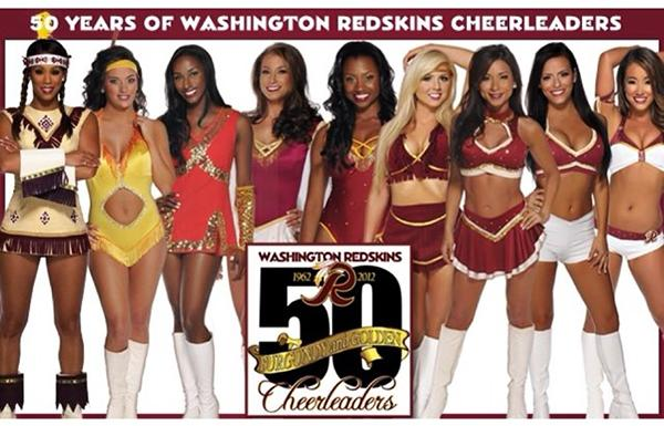 source: instagram.com/1stladiesoffbThe above graphic, created in 2012 to celebrate 50 years of Redskins cheerleaders, showed up on the squad's Instagram page yesterday.