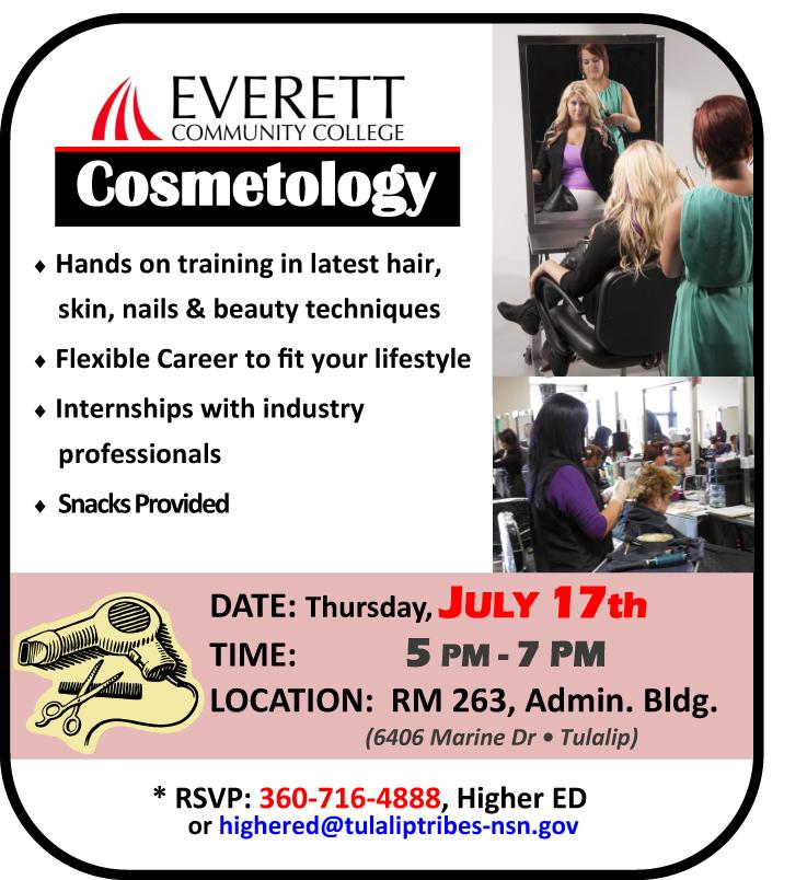 EvCC COSMETOLOGY Program AD