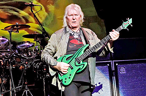 Bassist Chris Squire is the only member of Yes who has been with the band the entire time since 1969. The group will perform Aug. 21 at the Tulalip Amphitheater.— image credit: Courtesy photo