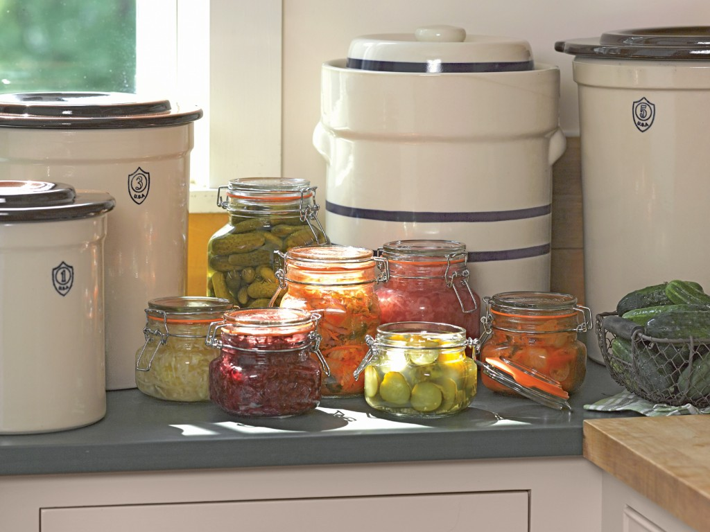 Fermentation is an ancient food preservation technique making a comeback.Photo: Gardener's Supply Company